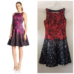 Julian Taylor NY Rose Fit & Flare Dress sz. 6
